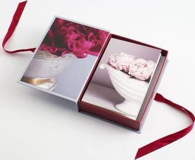 Notecard Box with Ribbon : Making a House Your Home
