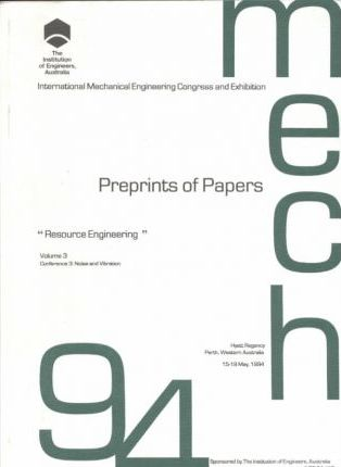 Mech 94 Preprints of Papers