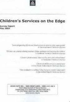 Children's Services on the Edge