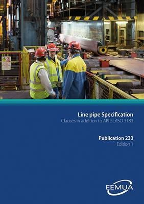 Line Pipe Specification: Clauses in Addition to API 5l/ISO 3183