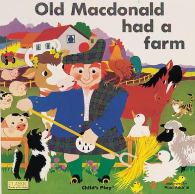 Old Macdonald Had A Farm Pam Adams 9780859536622