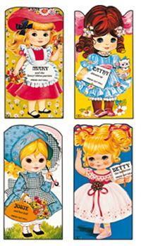 Giant Doll Dressing Books: Set of Four Books