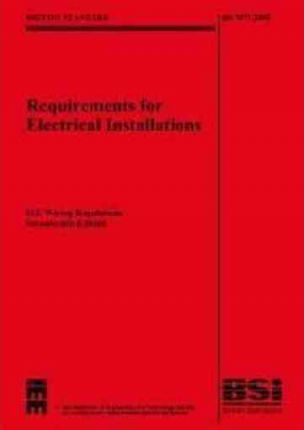 iee wiring regulations the institute engineering 9780863418440 rh bookdepository com iee wiring regulation iee wiring regulations pdf