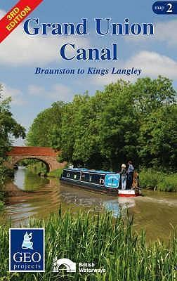Grand Union Canal: Braunston to Kings Langley Map 2