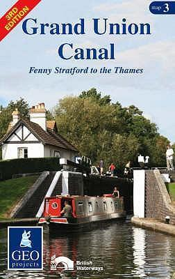 Grand Union Canal: Fenny Stratford to the Thames Map 3