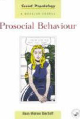 prosocial behaviour People often act to benefit other people, and these acts are examples of  prosocial behavior such behaviors may come in many guises: helping an  individual in.