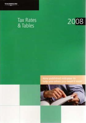 Tax Rates and Tables 2008