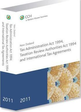 New Zealand Tax Administration Act 1994, Taxation Review Authorities Act 1994, and International Tax Agreements 2011