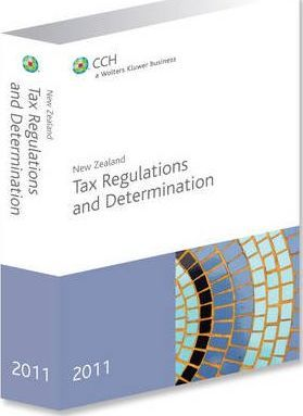 New Zealand Tax Regulations and Determinations 2011
