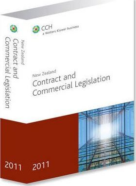 New Zealand Contract and Commercial Legislation 2011