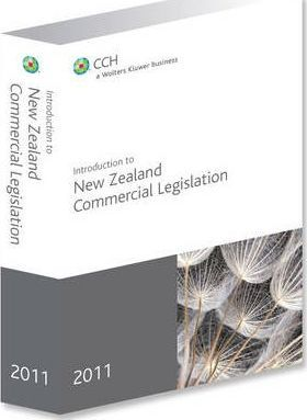 Introduction to New Zealand Commercial Legislation 2011