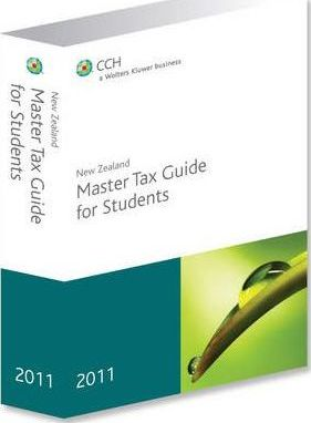 New Zealand Master Tax Guide for Students 2011
