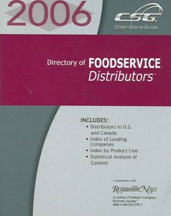 Directory of Food Service Distributors 2006