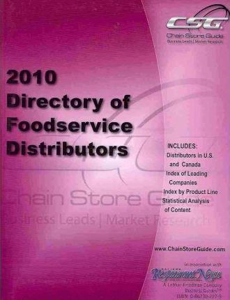 Directory of Food Service Distributors 2010