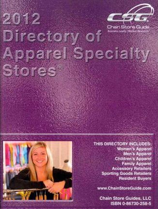 Directory of Apparel Specialty Stores 2012