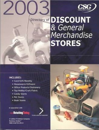 2003 Directory of Discount & General Merchandise Stores