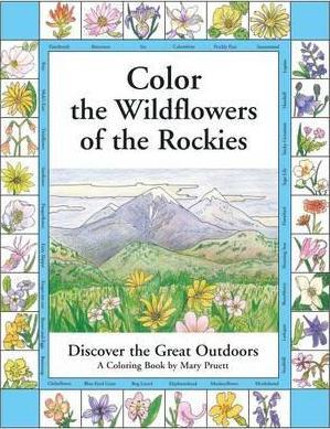 Color the Wildflowers of the Rockies  Discover the Great Outdoors
