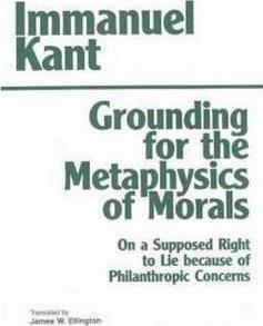immanuel kants metaphysics essay Kant's philosophy essay  from the basis of moral of metaphysics  ethics on immanuel kants categorical imperative.