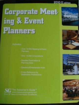 Corporate Meeting & Event Planners 2010-2011