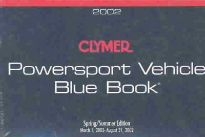 Clymer Powersport Vehicle Blue Book 2002