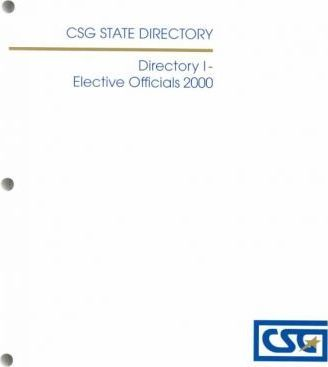 State Elective Officials 2000