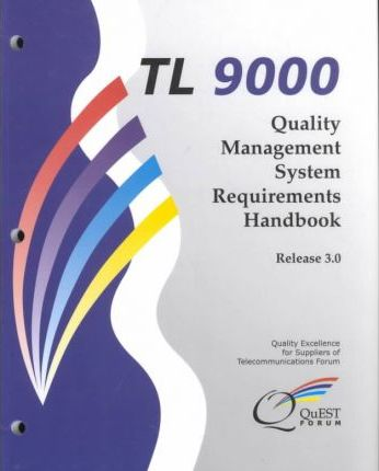 Tl 9000 Quality Management System Requirements Handbook