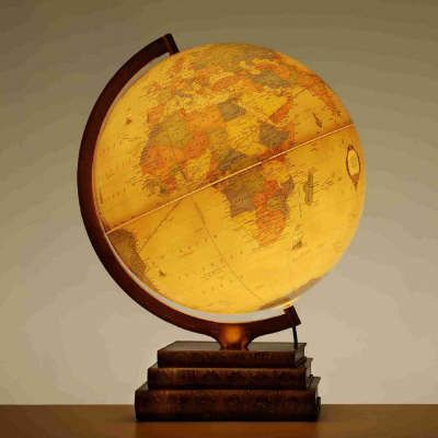 The Bookbase Illuminated Globe