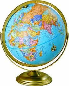 The Swing Ring Political Globe