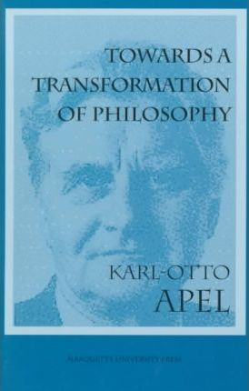 Towards a Transformation of Philosophy