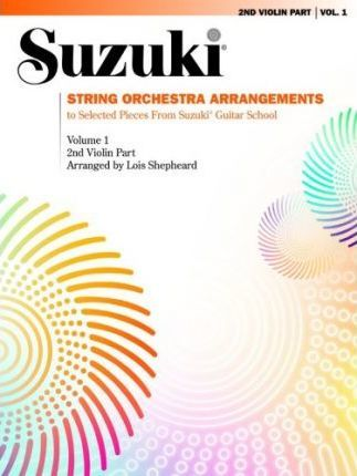 String Orchestra Arrangements to Select Pieces from Suzuki Guitar School