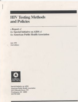 HIV Testing Methods And Policies