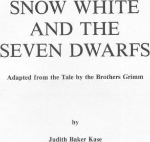 Snow White and the Seven Dwarfs: Play