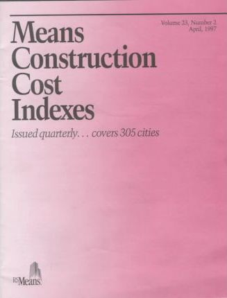Means Construction Cost Indexes