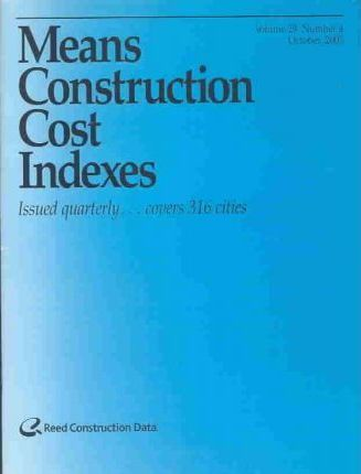 Means Construction Cost Indexes 2003