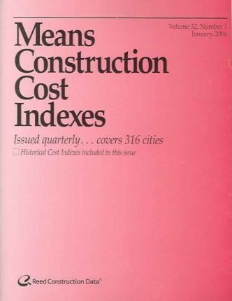 Means Construction Cost Indexes January 2006
