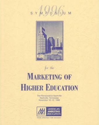 1996 Symposium for the Marketing of Higher Education