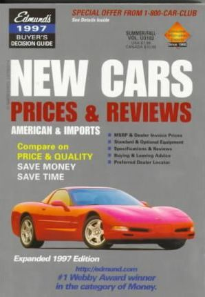 Edmund's New Cars 1997