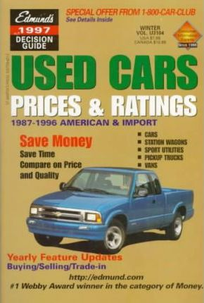 Edmund's 1997 Used Cars Prices and Ratings