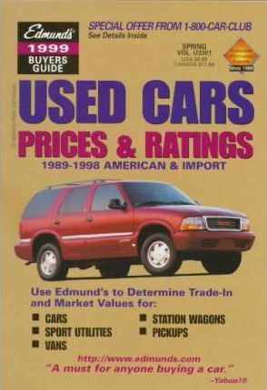 Edmunds 1999 Used Cars Prices & Ratings