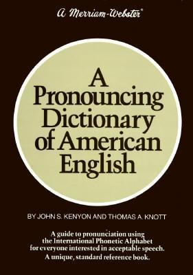 A Pronouncing Dictionary Of American English Pdf