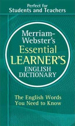 M-W Essential Learner's English Dictionary