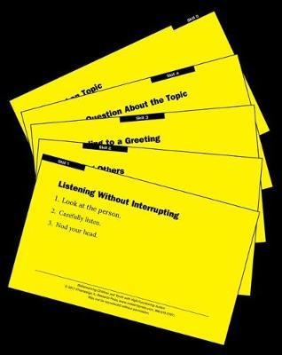 Skillstreaming Children and Youth with High-Functioning Autism Skill Cards (Set of 480)