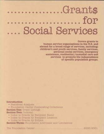 Grants for Social Services 2000-2001