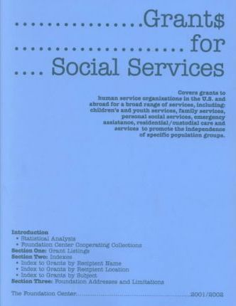 Grants for Social Services 2001-2002