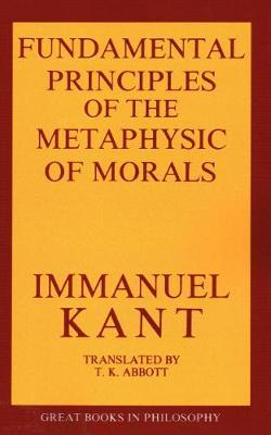 immanuel kant metaphysics of morals 2 essay Immanuel kant's moral theory although kant's moral theory makes many great points about fairness and equality, the negatives of the theory outweigh the positives kant's moral theory would never be able to function in today's society.