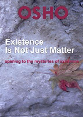 Existence Is Not Just Matter