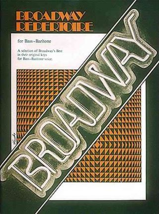 Broadway Repertoire for Bass/Baritone