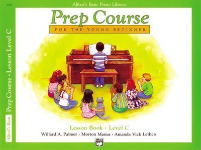 Alfred's Basic Piano Prep Course Lesson Book, Bk C