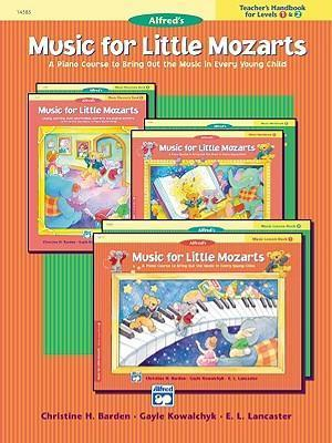 Music for Little Mozarts Teacher's Handbook, Bk 1 & 2 : A Piano Course to Bring Out the Music in Every Young Child
