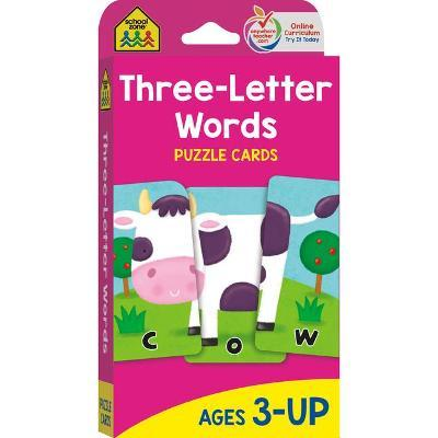 Puzzle Cards Three Letter Words